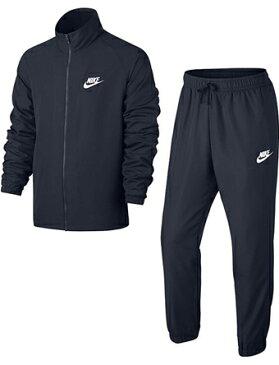 バスケットセットアップ ウェア ナイキ Nike Woven Basic Track Suit Obsidean ランニング トレーニング ストリート 【MEN'S】