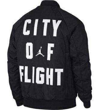 ジャケット ウェア 秋冬物 ジョーダン ナイキ Jordan Jordan Wings C.O.F. MA-1 Jacket Blk ストリート 【MEN'S】