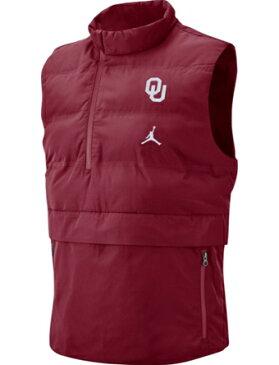バスケットジャケット ウェア 秋冬物 ジョーダン ナイキ Jordan Jordan College 23 Tech Vest Sooners ランニング トレーニング ストリート 【MEN'S】