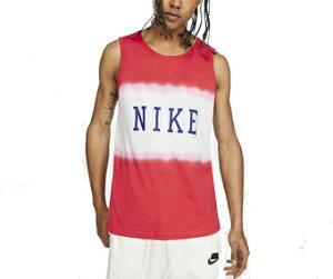バスケットノースリーブ タンクトップ ウェア ナイキ Nike Americana Statement Tank Track Red ランニング トレーニング ストリート 【MEN'S】