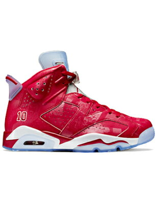 Air Jordan 6 Retro SlamDunk V.Red/V.Red/Wht Jordan ジョーダン スラムダンク  エアジョーダン6 シューズ バスケットボール