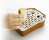 食パンの耳でカンタンに生パン粉が出来ちゃう「パン粉だパンだ」 曙産業о製菓道具_調理小道具・下ごしらえ用品_おろし器_プラスチック製