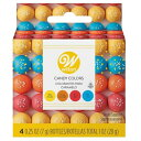 WILTON (ウィルトン)プライマリーキャンディカラーセット(イエローオレンジレッドブルー )/チョコレート用色素 着色 デコレーション キャンディメルツ