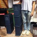 スリム3段 スリム3段 ゴミ箱シュットくん 容量 30L SGS-933NVLFS-933WH 分別型 ネイビー ホワイト紺白 おしゃれスタイリッシュ 縦型オーブンペダル式 ごみ箱ダストボックスシンプル すき間