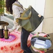 BSピクニックバッグ保冷バッグクーラーバッグカーキKHTHEBEAVERESTATEファミリークーラーバッグ保冷保温大容量弁当かっこいいかわいいニコット