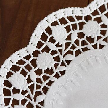 業務用 デムラー(Demmler)レースペーパー ドイリーローズ20cm 1,000枚(500枚×2)Demmler High-End Paper デムラーハイエンド ドイツ製 食品用 送料無料