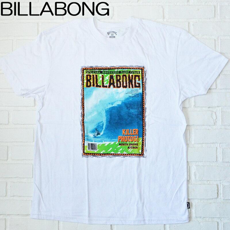 トップス, Tシャツ・カットソー BILLABONG T BILLABONG M4041BKL KILLER TEE WHITE THawaii