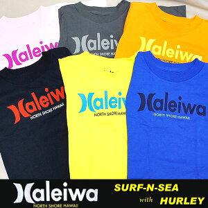 ハワイ限定Tシャツサーフアンドシーとハーレーのコラボ・キッズ&ベビーTシャツ★【SURF-N-SEA...