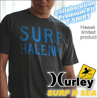 "And collabo ""Harley & サーフアンドシー' collaboration with men's TEE""HALEIWA SURF' MTSPSFHLH"