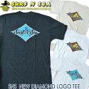 SURF-N-SEAサーフアンドシーサーフィンシーメンズTシャツSNS NEW DIAMOND LOGO TEES〜XL迄Hawaiiハワイ雑貨ハワイアン雑貨ハワイアン