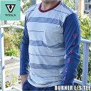 【値下げしました】【VISSLA】ビスラメンズロングTシャツBURNER L/S TEEHawaii ハワイ雑貨 ハワイアン