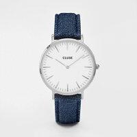 【日本公式品】CLUSE腕時計クルースLaBoheme(ラ・ボエーム)シルバー38mm径全15色