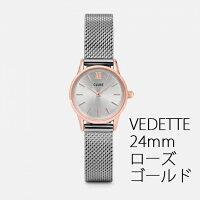 【日本公式品】CLUSE腕時計クルースメッシュシルバー全8色