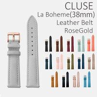 CLUSEラ・ボエームストラップブラック/ローズゴールドCLS001