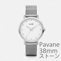【国内正規品】CLUSE腕時計クルースLaBoheme(ラ・ボエーム)メッシュシルバー全2色