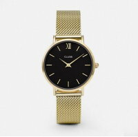 CLUSEクルース腕時計MinuitMeshゴールド全2色