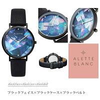 アレットブランALETTEBLANCリリー時計(Lilywatch)腕時計スワロフスキークリスタルマザーオブパール全6色【予約受注!(10月下旬より順次発送予定)】