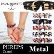 【日本公式品】Paul Hewitt ポールヒューイット PHREPS (フェレプス) カジュアル アンカーブレスレット 金具色:メタル KAPTEN & SON(キャプテン&サン)好きにも