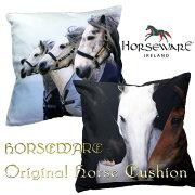 ホースウェアホースデザインクッション(馬柄クッション)