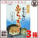 沖縄県産石垣の塩漬け島らっきょう60g×1箱送料無料沖縄県産の島らっきょうと沖縄の石垣の塩を使い丁寧につくりました