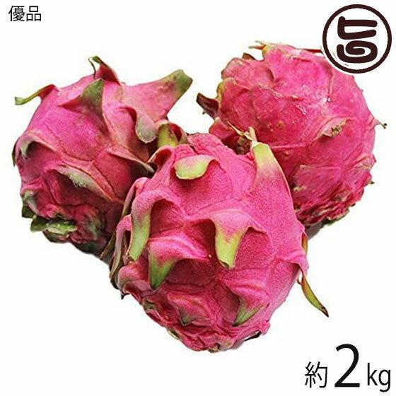 優品 沖縄産 ピタヤ レッドドラゴンフルーツ 約4kg 送料無料 沖縄 フルーツ お土産