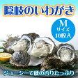 期間限定 隠岐のいわがき Mサイズ 10枚入り 3月から6月まで 送料無料 島根県 新鮮 魚介類 人気 贅沢