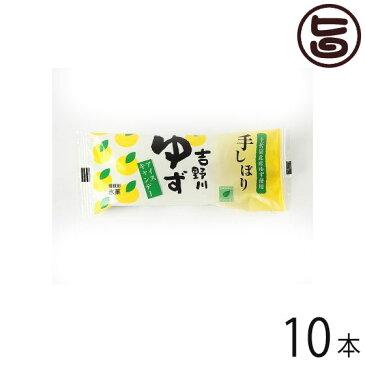 吉野川ゆずバー 110ml×10本 高知県 四国 フルーツ スイーツ 条件付き送料無料