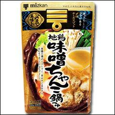 ミツカン 〆まで美味しい 地鶏味噌ちゃんこ鍋つゆストレートタイプ750g(3〜4人前)×1袋