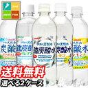 【送料無料】サンガリア 伊賀の天然水炭酸水500ml5種類より2種選べる合計48本セット【2ケース】【選り取り】