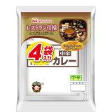 【送料無料】日本ハム レストラン仕様 カレー(中辛)4袋入り680gパック×1ケース(全10本)