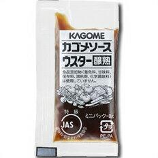 カゴメウスターソース醸熟レストラン用(JAS特級)(8g×40個)×1ケース(全15本)【KAGOME】【業務用】【調味料】