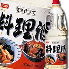 【送料無料】合同 割烹仕立て料理酒 1.8Lペットボトル×2ケース(全12本)