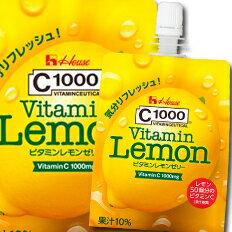 【送料無料】ハウス C1000ビタミンレモンゼリー180g×1ケース(全24本)【to】
