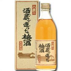 日本酒・焼酎, 梅酒  14 500ml112