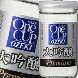 【送料無料】大関 ワンカップ大吟醸180ml瓶×1ケース(全30本)
