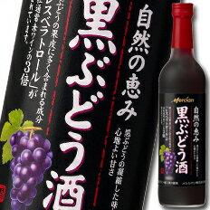 【送料無料】メルシャン自然の恵み黒ぶどう酒600ml瓶×1ケース(全12本)