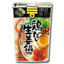ミツカン 〆まで美味しい鶏だし生姜鍋つゆストレート750g×1袋