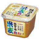 【送料無料】マルコメ だし入り 料亭の味 米麦合わせ650gカップ×2ケース(全16本)