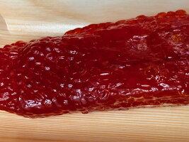 塩筋子・900g(天然紅鮭紅子)【ふぞろい、切れ子込み】小粒です。見た目だけで味・色は問題ありません【冷凍便】すじこ筋子スジコ訳あり紅子紅鮭お取り寄せ魚卵