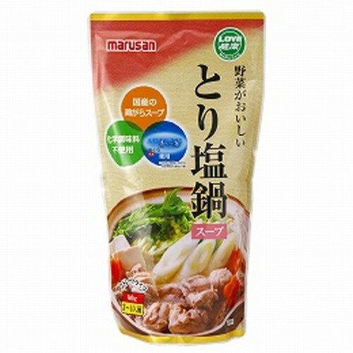 マルサンとり塩鍋スープ600g【創健社】