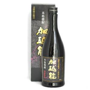 日本醗酵化成 加越能(かえつのう) 25% 720ml(化粧箱入)