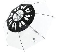 カラフルなバラ柄ビニール傘