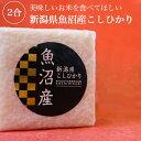 新潟県魚沼産こしひかり 2合 真空パック キューブ型 常備品...