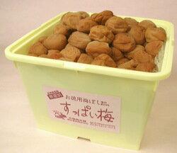 □訳あり・南高梅すっぱい梅 5kg 塩分約15-16% 熱中症対策に小...