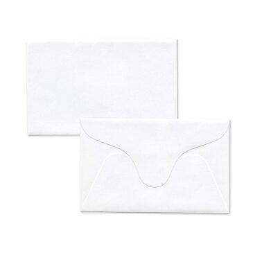 【送料無料】名刺入封筒 13 名刺封筒 名刺サイズ 名刺 封筒 名刺入れ カード 白/ホワイト【サイズ 71×109mm】テレカ/図書券/クオカード/おつり/つり銭 等に最適な封筒【100枚】
