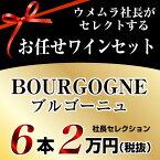 社長セレクション ブルゴーニュ ワイン6本セット (2万円)