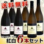 【送料無料】6本セットカレラ・エステート・ブレンド紅白6本セット(2014ピノ・2013シャルドネ)