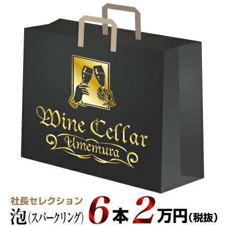 社長セレクション泡6本セット(2万円)