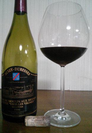 オークセイ・デュレス・クロ・デュ・ムーラン・オー・モワーヌ・キュヴェ・ヴィエーニュ・ヴィーニュ750ml(フランスブルゴーニュ・赤ワイン)
