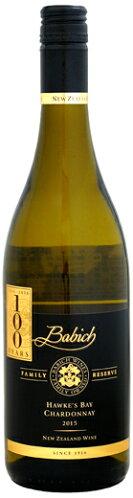 バビッチ・ワインズファミリー・リザーヴ・ホークス・ベイ・シャルドネ2015年750ml(ニュージーランド・白ワイン)